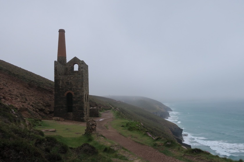 Mine shaft in the mist