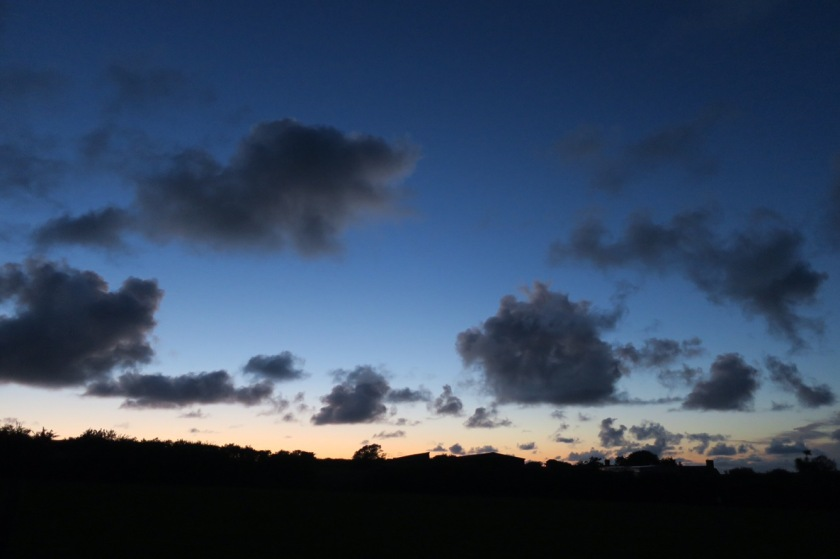 Sky over Trewiston Farm