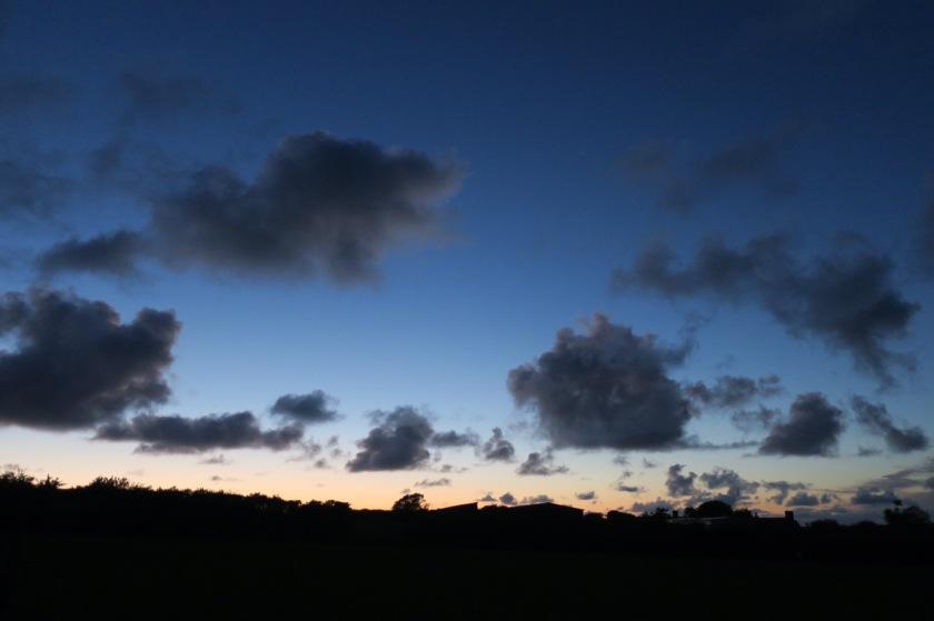 Sky over Trewiston Farm