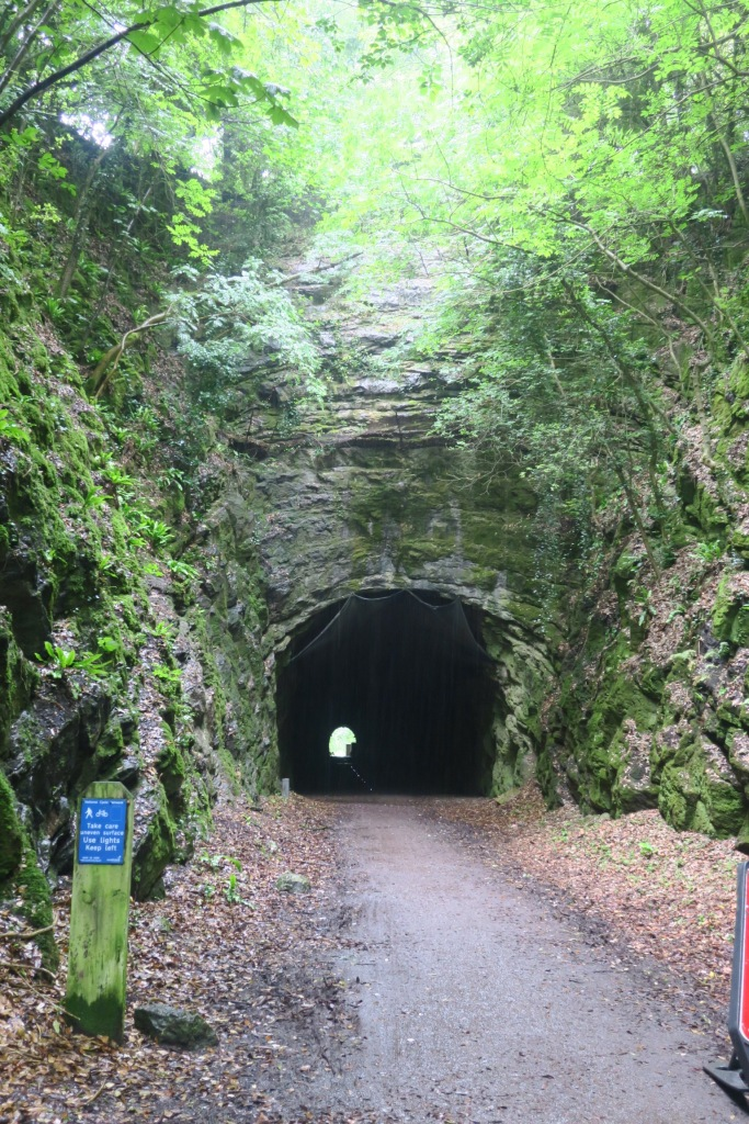 A tunnel on the Strawberry Line