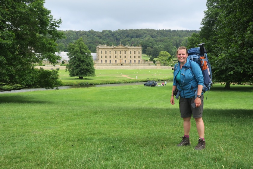 Me at Chatsworth