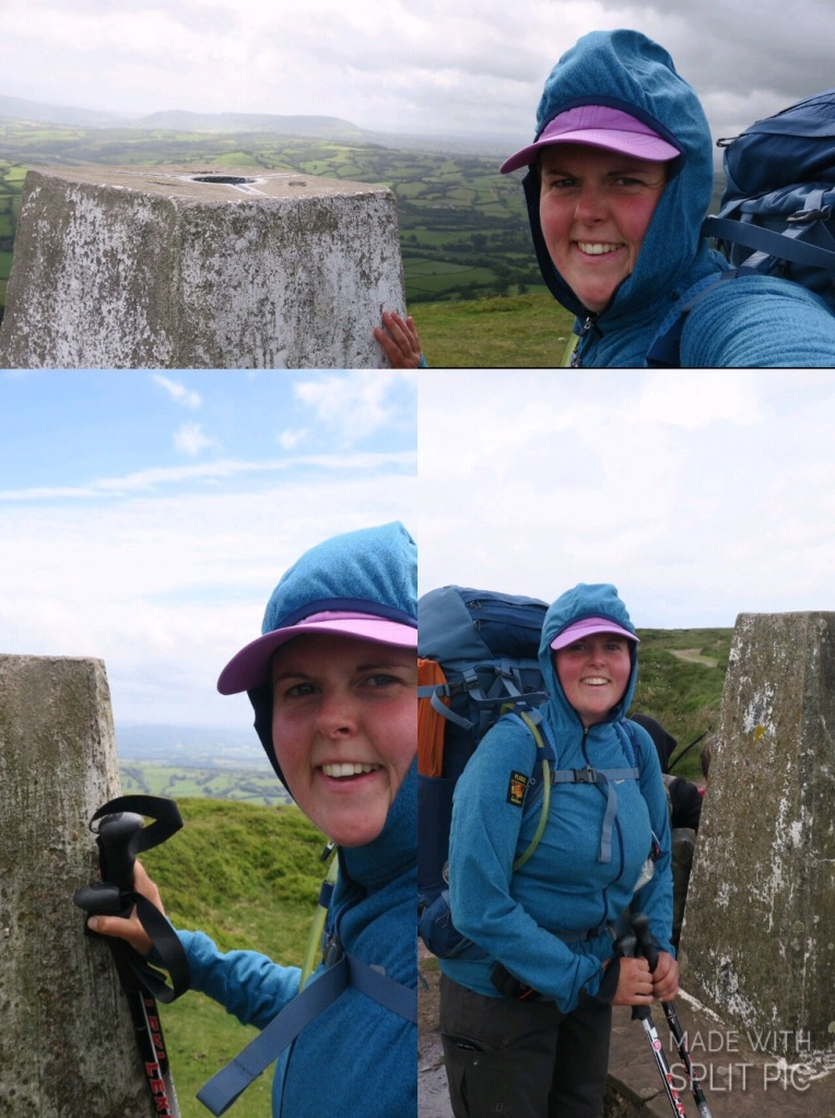 Me with each trig point