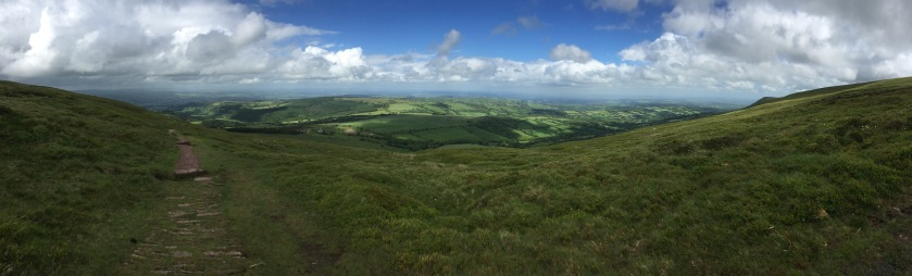 View from Hatterrall Ridge