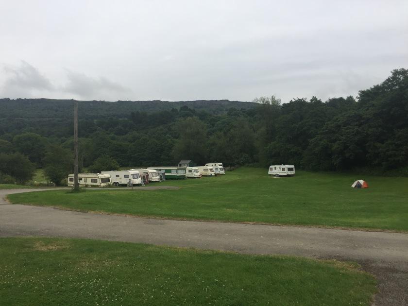 Campsite at Calver