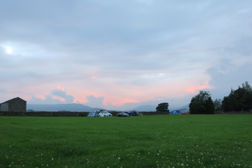 Sunset at Hawes