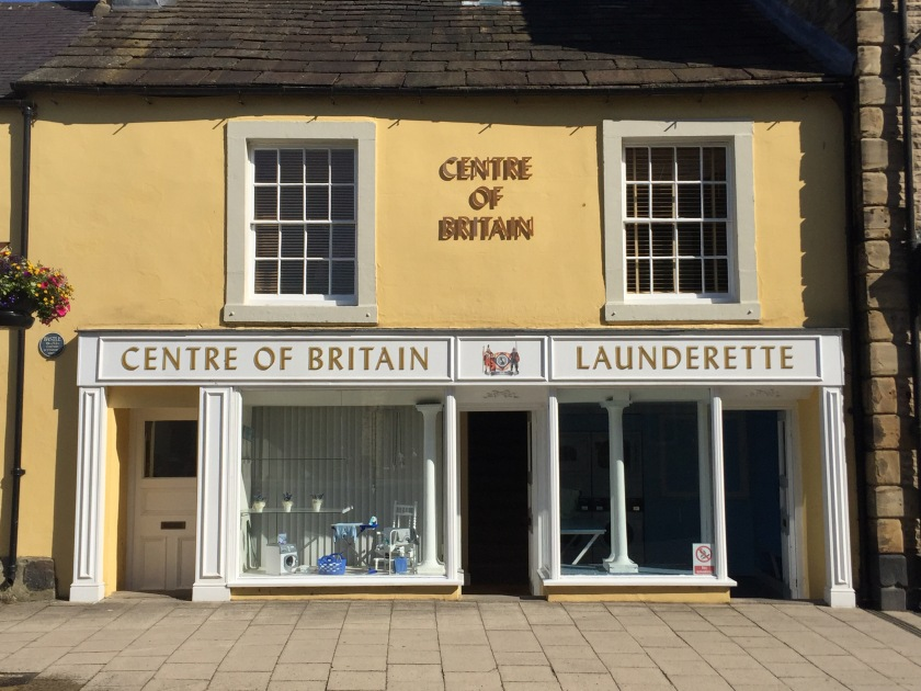 Centre of Britain Launderette - really?!
