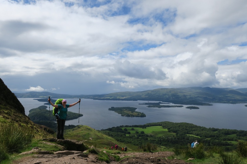 View of Loch Lomond from Conic Hill