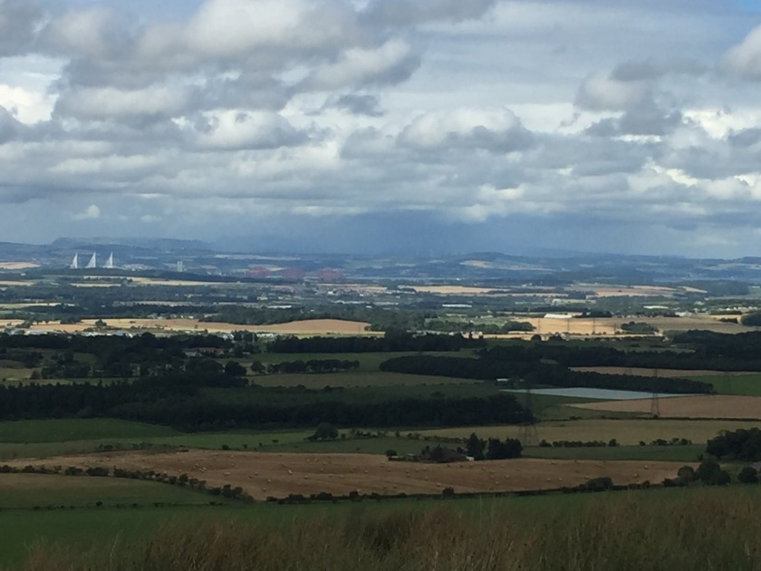 View over West Lothian